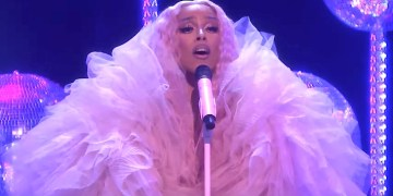 Doja Cat Embraces Disco In A Glittery Performance Of Say So On Fallon