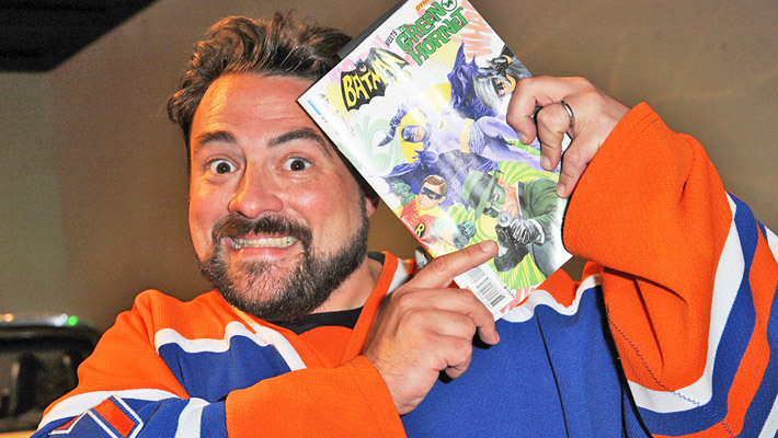 Wait, Is Robert Pattinsons Dark New Batsuit Symbol Actually Because Of Kevin Smith?