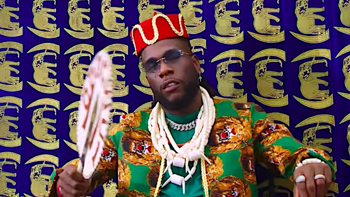 Burna Boy Puts His Culture On Display In The Colorful Odogwu Video