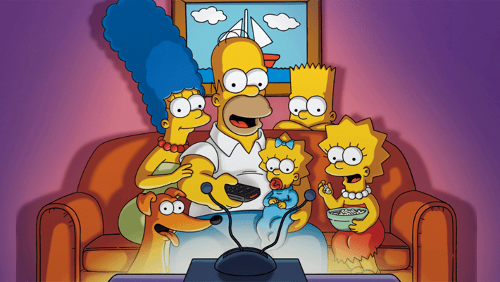 The Simpsons Unveils A Virtual-Reality Themed Look As A Quarantine-Themed Couch Gag