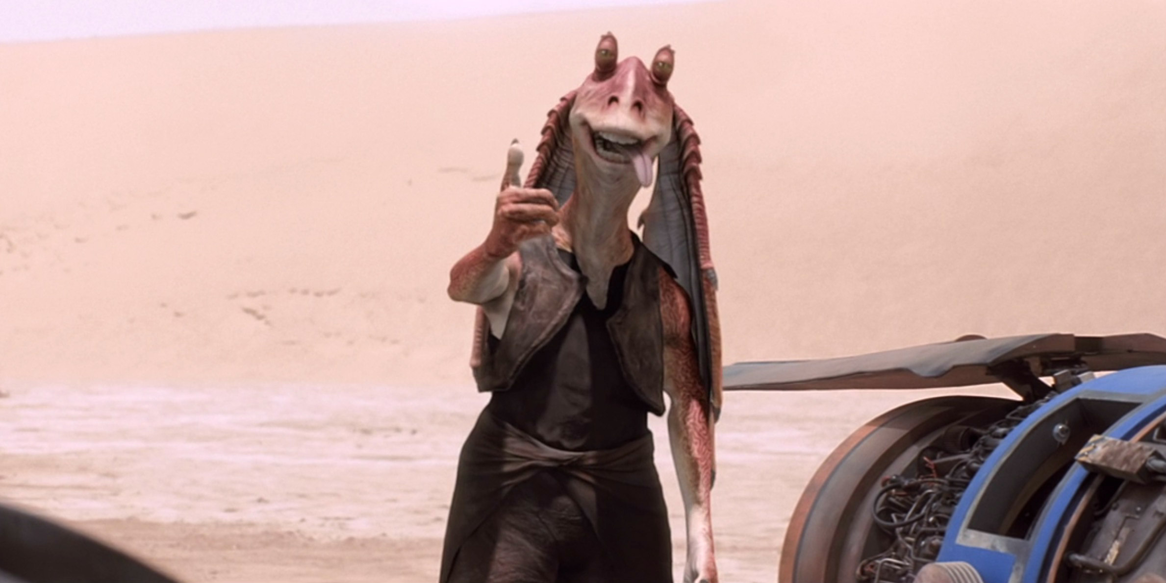The Actor Who Played Jar Jar Binks Believes Star Wars Has Become Too Adult