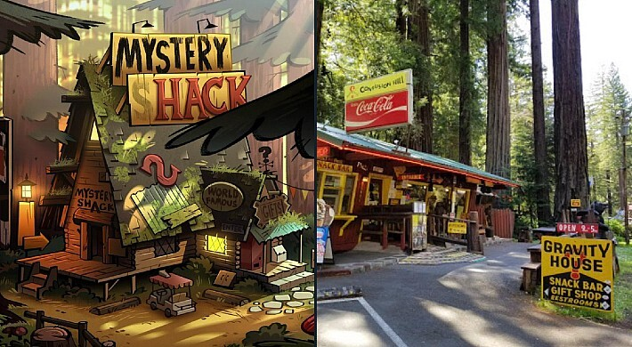 Gravity Falls Fans Saved A Roadside Attraction The Show Was Based On