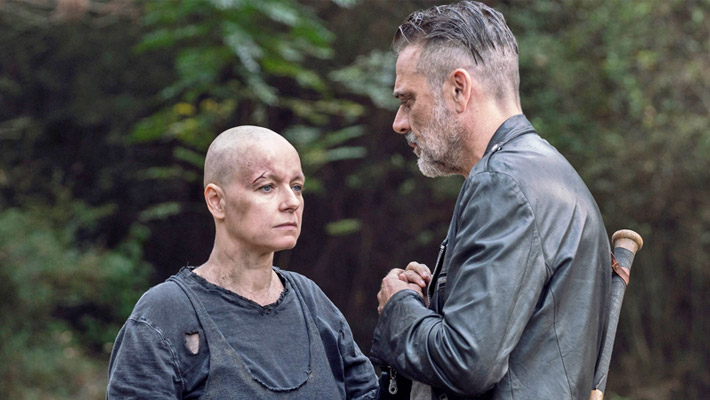 Regrowing Her Hair Has Been A Challenge For Samantha Morton