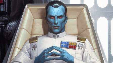 Star Wars' Fans Losing It Over Thrawn Name Drop In 'The Mandalorian'