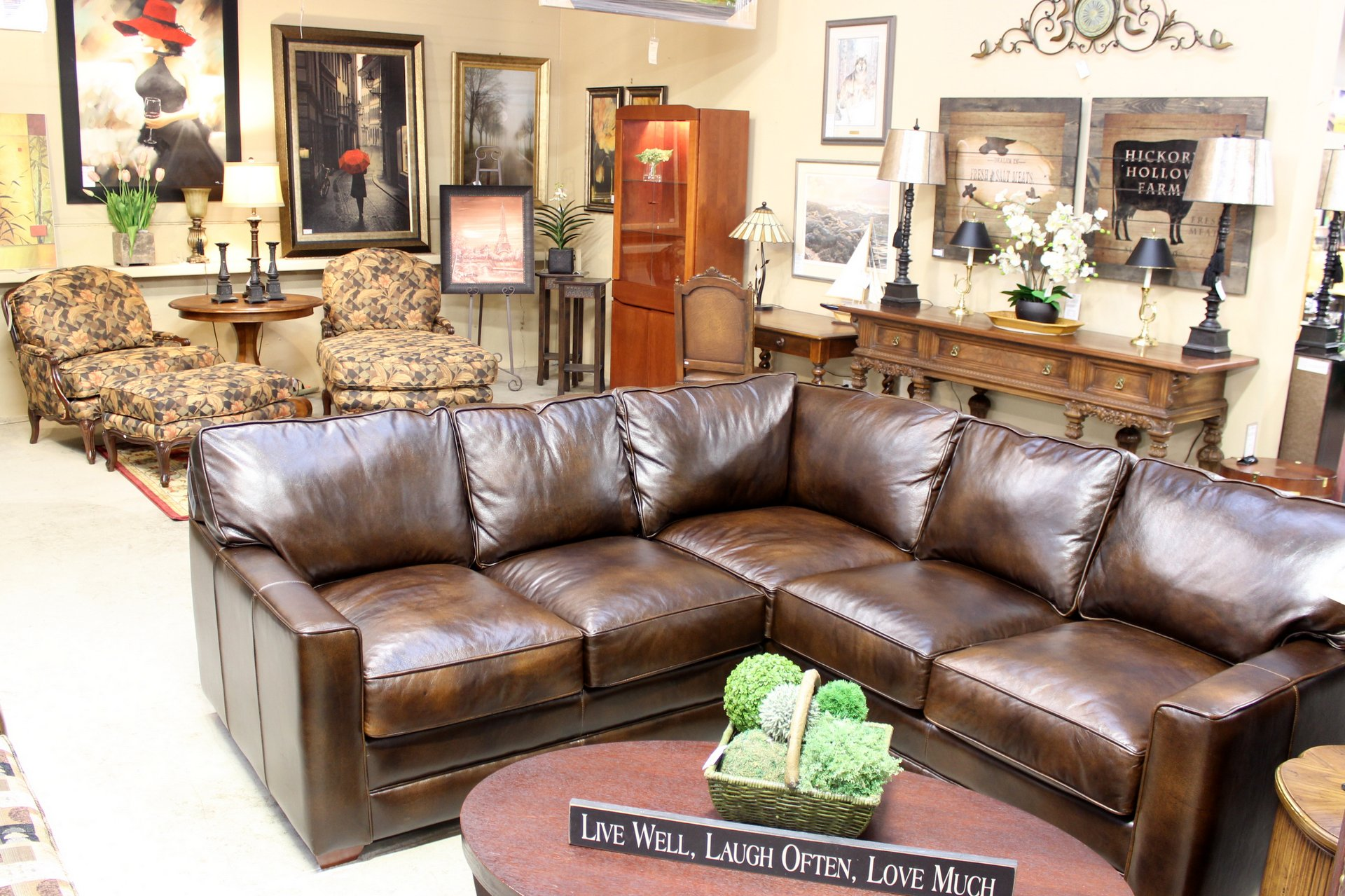 Upscale Consignment   Upscale Used Furniture   Decor Save 40 80  on Quality Like New Furnishings