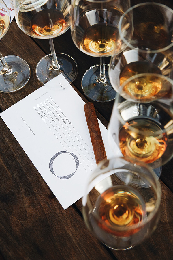 Otium's cigar nights feature a freshly rolled cigar and a guided whiskey tasting experience.