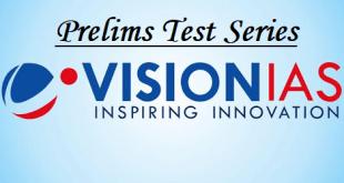 Vision IAS Prelims Test Series 2019
