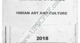 Vajiram and Ravi Art and Culture Printed Notes PDF Download