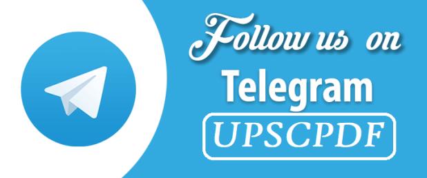 UPSC PDF Telegram