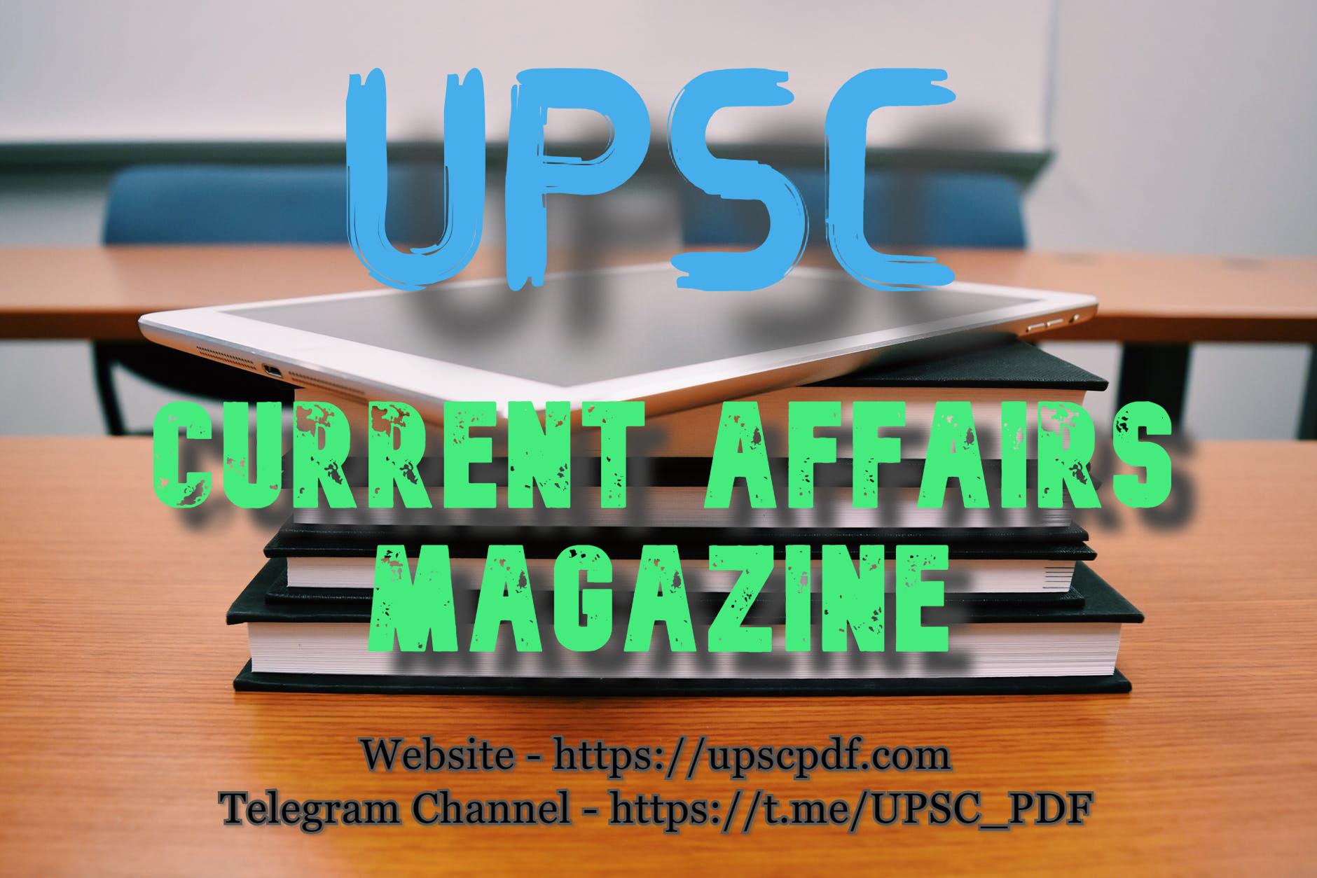 Current Affairs Magazine