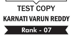 UPSC Topper Karnati Varun Reddy Rank 7 Ethics Copy