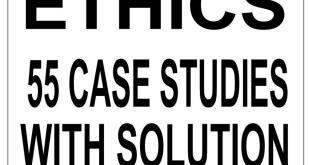 Vision IAS 55 Ethics Case Study PDF
