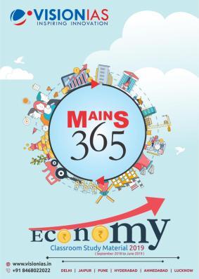 Vision IAS Mains 365 Economy 2019 PDF