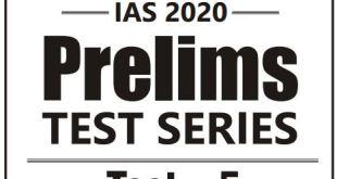 GS SCORE Prelims 2020