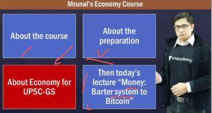Mrunal Economy Unacademy class 04