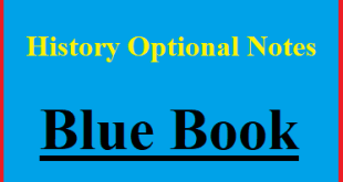 Rau's IAS History Optional Blue Book