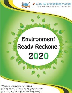 La Excellence Ready Reckoner 2020 Environment PDF