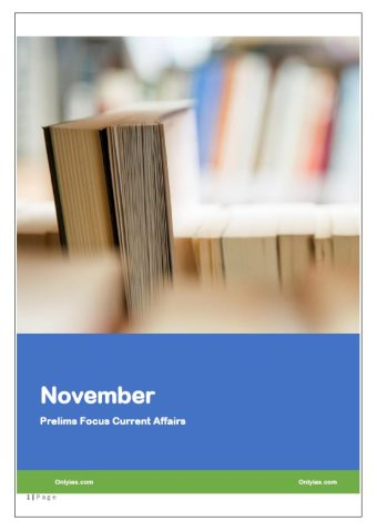 ONLY IAS November 2019 Current Affairs PDF