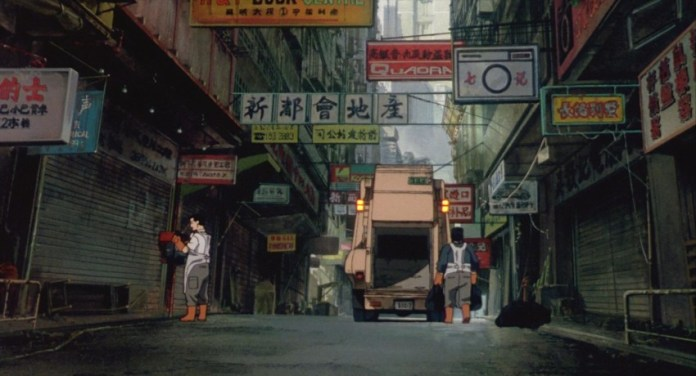 Japan's New Port City may be technology advanced, but it's still far from a utopia. Image via  All The Anime .