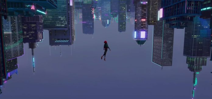 This is the best Spider-Man film. Image via  Cartoon Brew