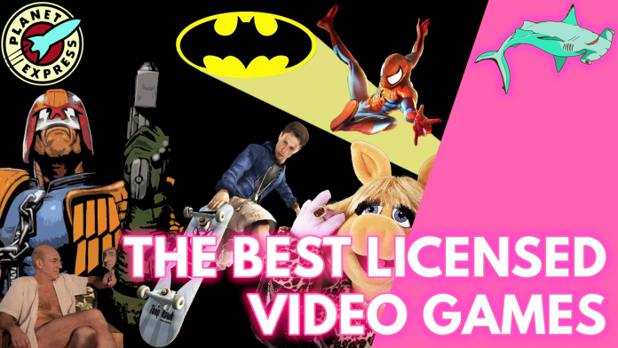 licensed video games thumbnail