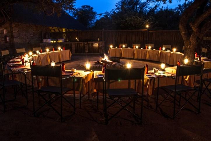 The Boma at the Gomo Gomo Game Lodge, GoSAfari Organized Tours