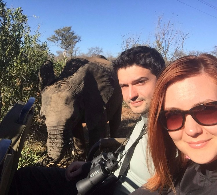 Selfie with the Elephant!