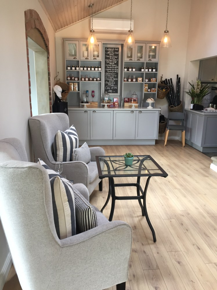 Wine tram experience south africa: Cozy by the fireplace in La Bourgogne