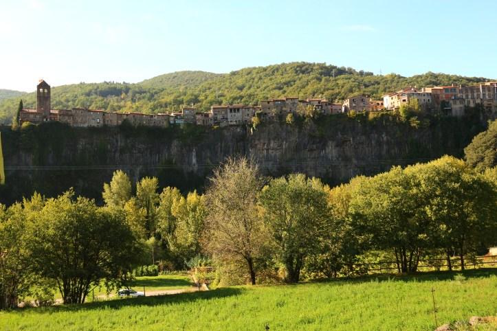 Castellfollit de la Roca panoramic view