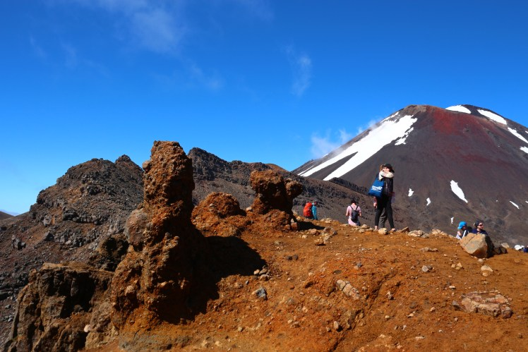 Mount Ngauruhoe and Red Crater