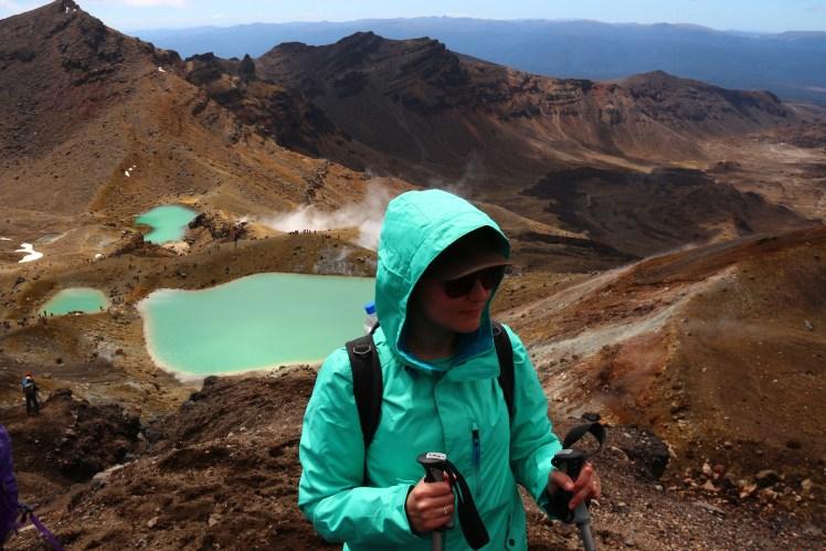 Emerald Lakes at the Tongariro Alpine Crossing, New Zealand