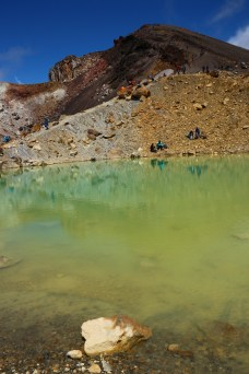 Great stop for your lunch: Emerald Lakes