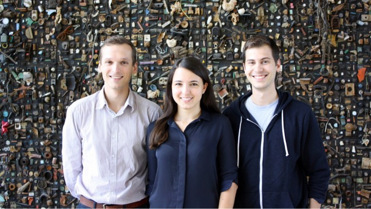 ClaimCompass Founders: Velizar Shulev (co-founder & CTO) Alexander Sumin (co-founder & CMO) and Founder and CEO Tatyana Mitkova