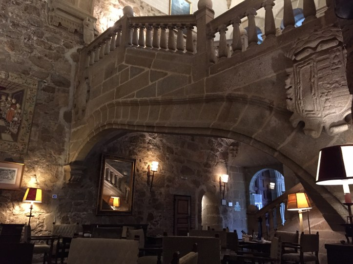 Parador de Plasencia Flying staircase