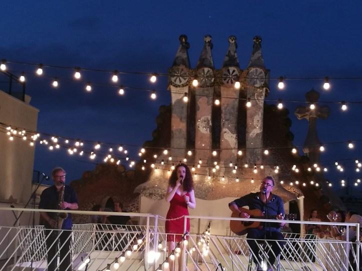 Casa Batllo Magic Nights concert on the rooftop