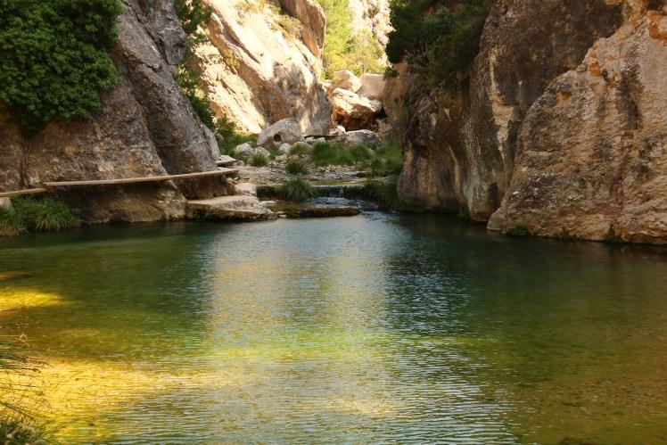 Hiking the Parrisal de Beceite in Mararrana, Spain