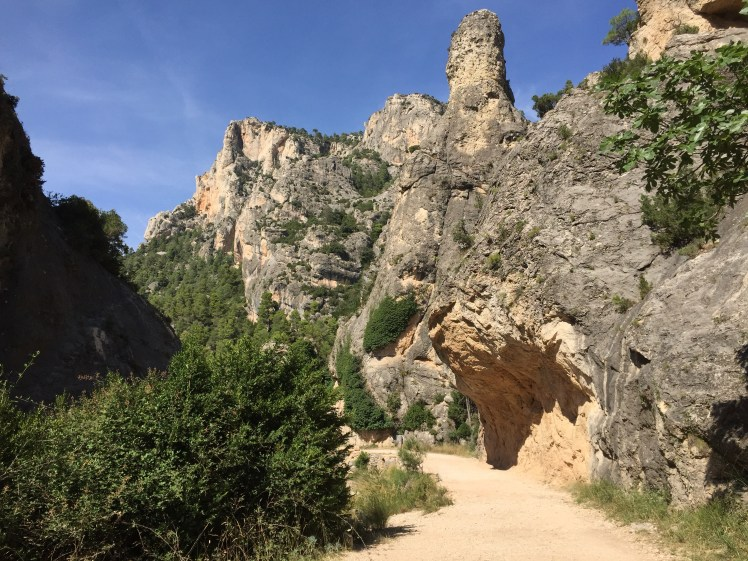 Cliffs at Parrisal de Beceite