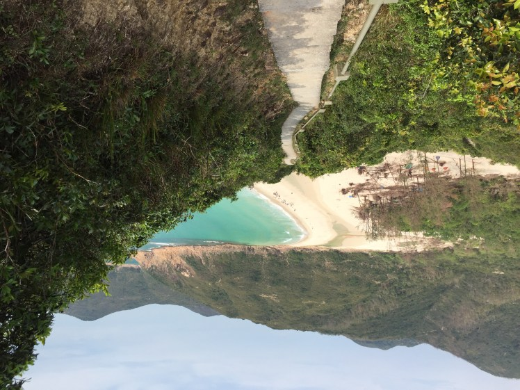 best tips for a short stay in Hong Kong: hiking the MacLehose Trail Section 2 trail view