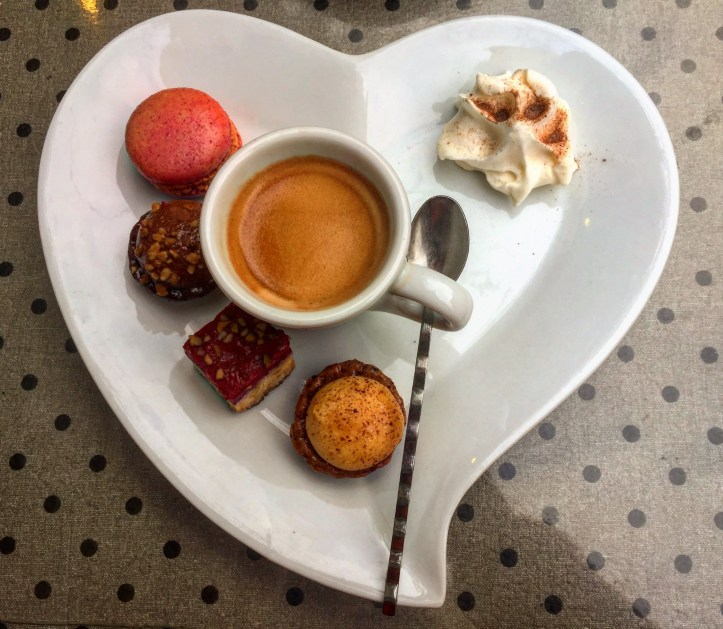 Colmar's cafe gourmand