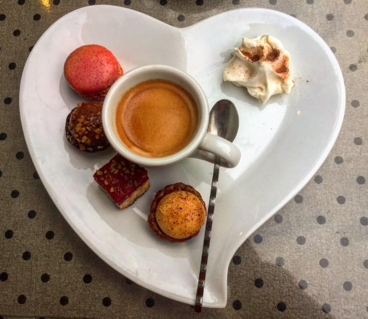 Colmar's cafe gourmand