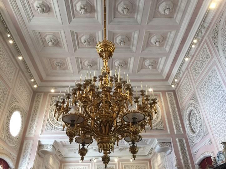palacio de pena interior ceiling