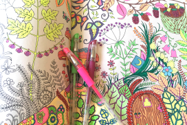 New Adult Coloring Books - More Relaxation and Fun