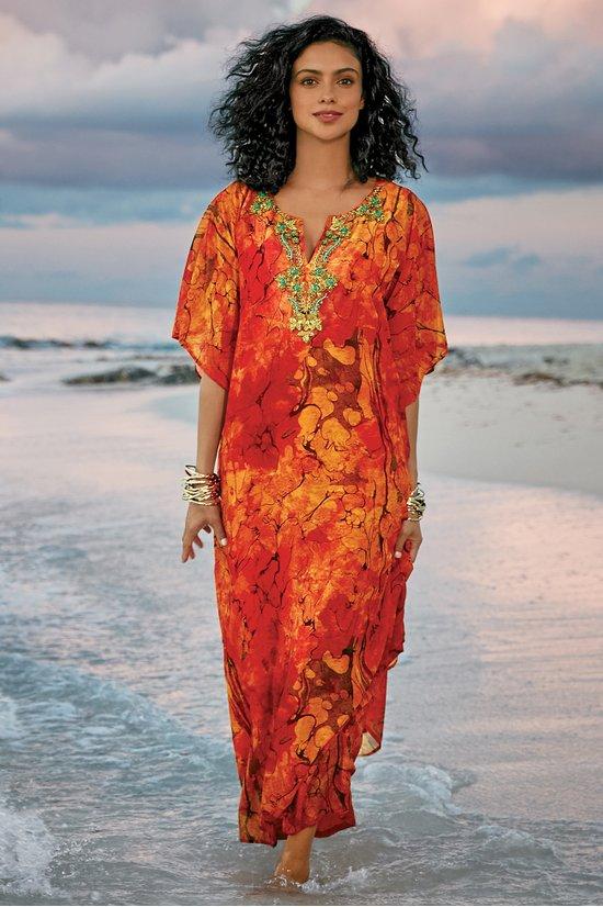 Shandra Caftan Dress