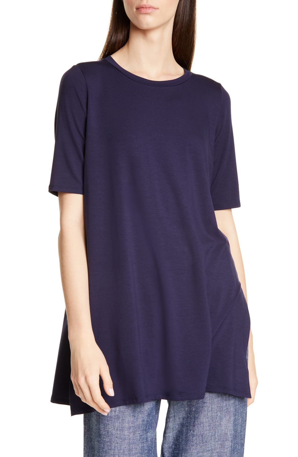 Stretch Tencel® Lyocell Tunic