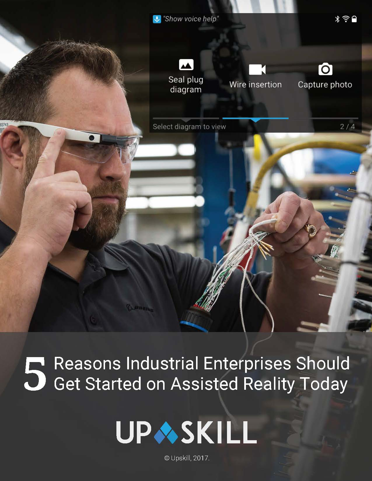 Whitepaper on Augmented Reality in Retail: 5 Reasons Industrial Enterprises Should Get Started on Assisted Reality Today Image