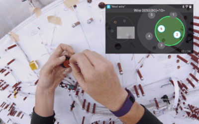 Wire Harness Manufacturing with Skylight | Augted Reality