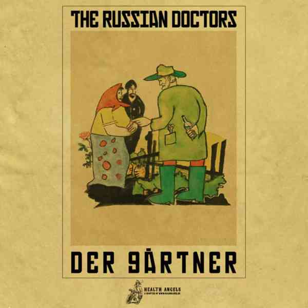 The Russian Doctors - Beutel - Der Gärtner - Siebdruck