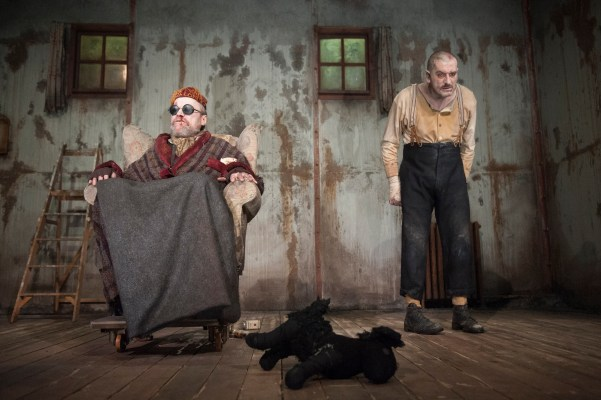 Endgame by Samuel Beckett  Presented by HOME Manchester and the Glasgow Citizens Theatre.   © Tim Morozzo