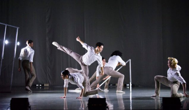 A scene from Frames by Rambert Dance Company ©Tristram Kenton