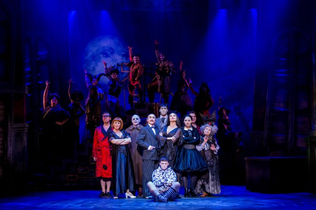 The Addams Family at The Lowry Theatre, Salford © Matt Martin